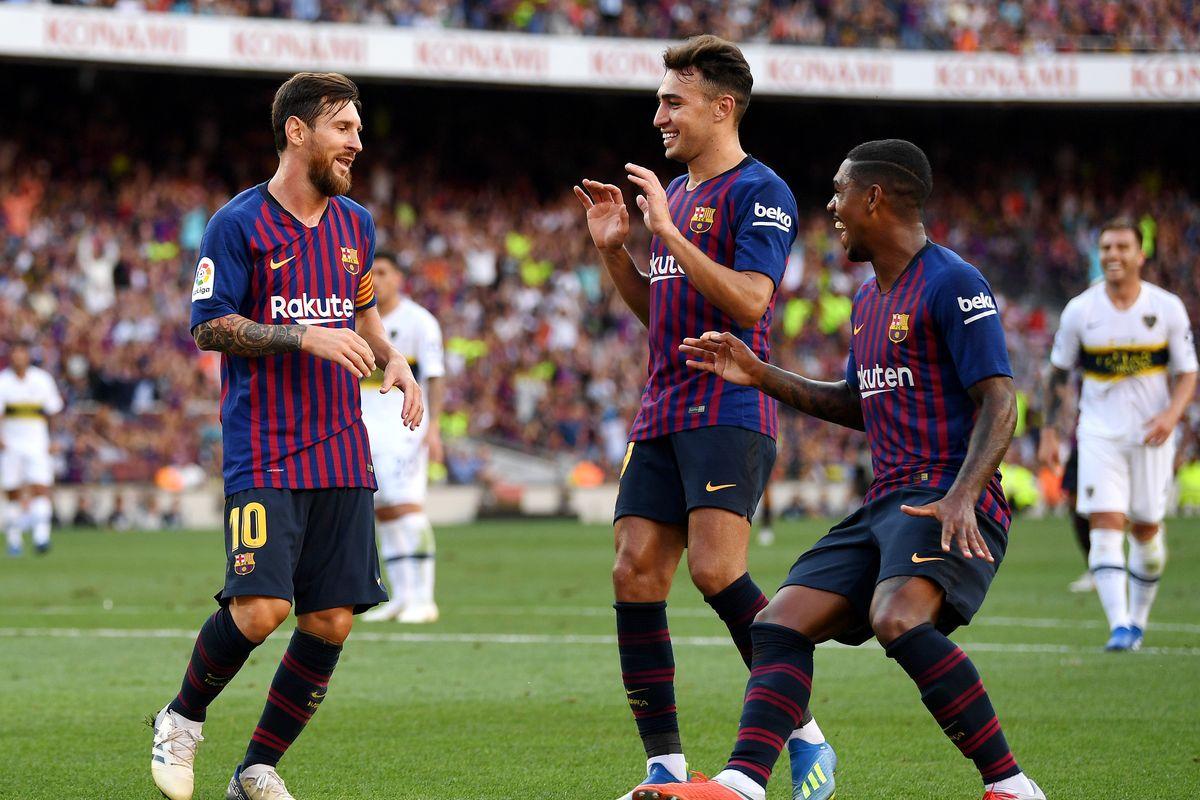 Barcelona 3-0 Boca Juniors (Giao hữu CLB 2018)