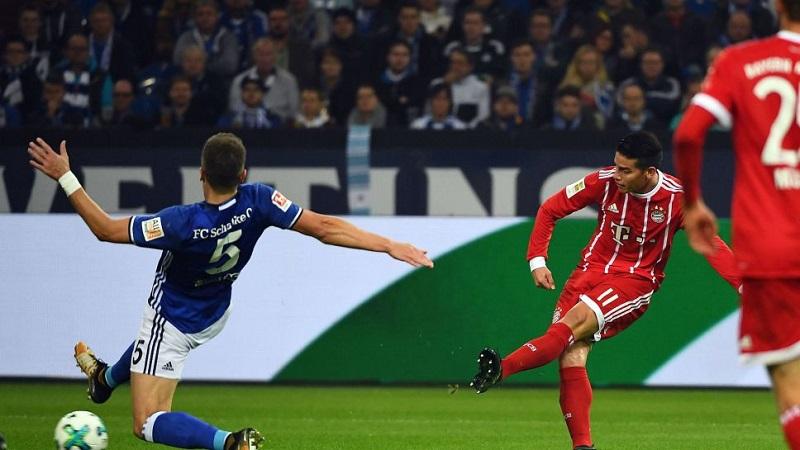 Schalke 0-3 Bayern Munich (vòng 5 Bundesliga 2017/18)