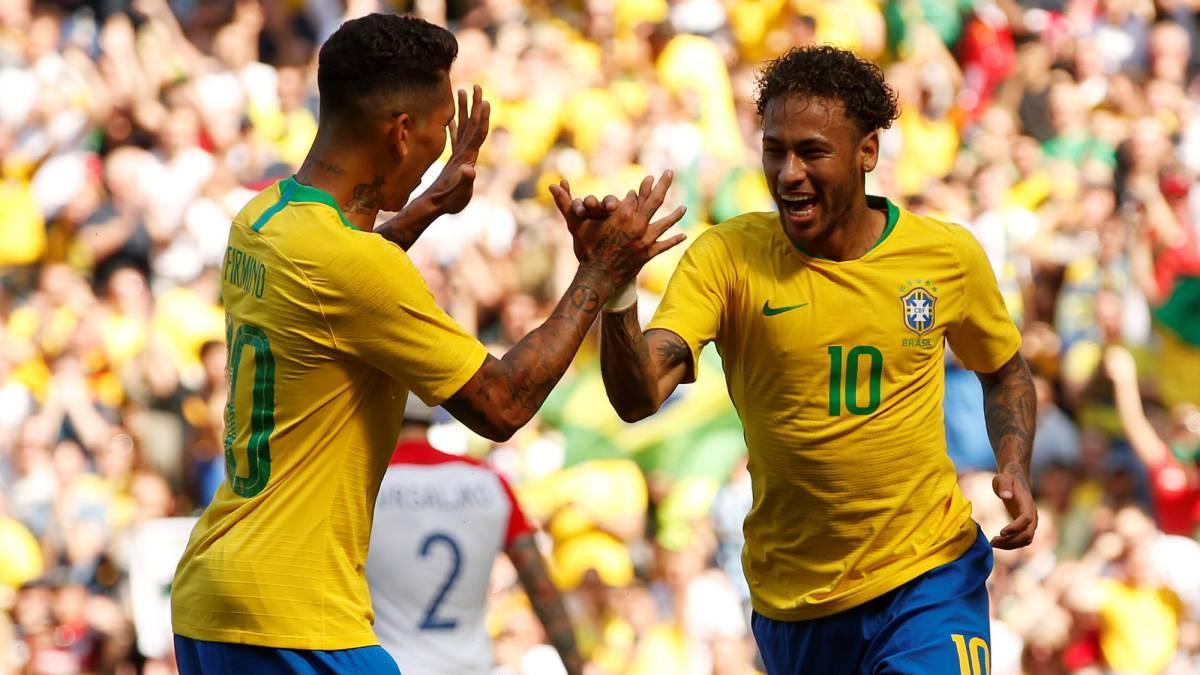 Màn trình diễn ấn tượng của Neymar trước đối thủ Croatia