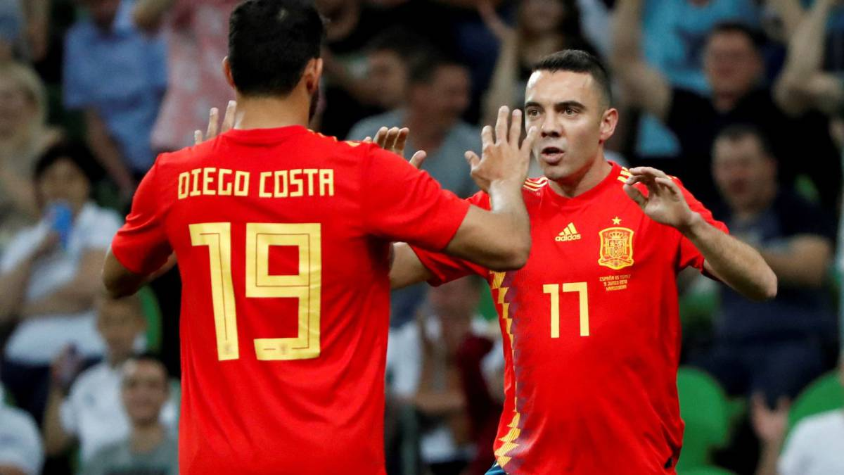 Tunisia 0-1 Tây Ban Nha (Giao hữu Quốc tế 2018)