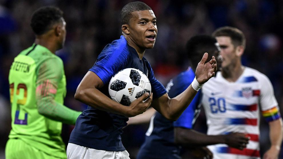 Pháp 1-1 Mỹ (Giao hữu Quốc tế 2018)