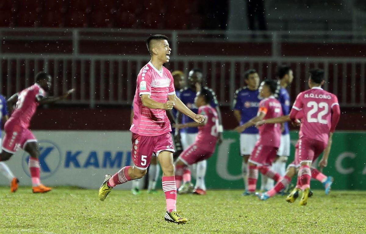 Sài Gòn FC 5-2 Hà Nội FC (vòng 14 V-League 2018)