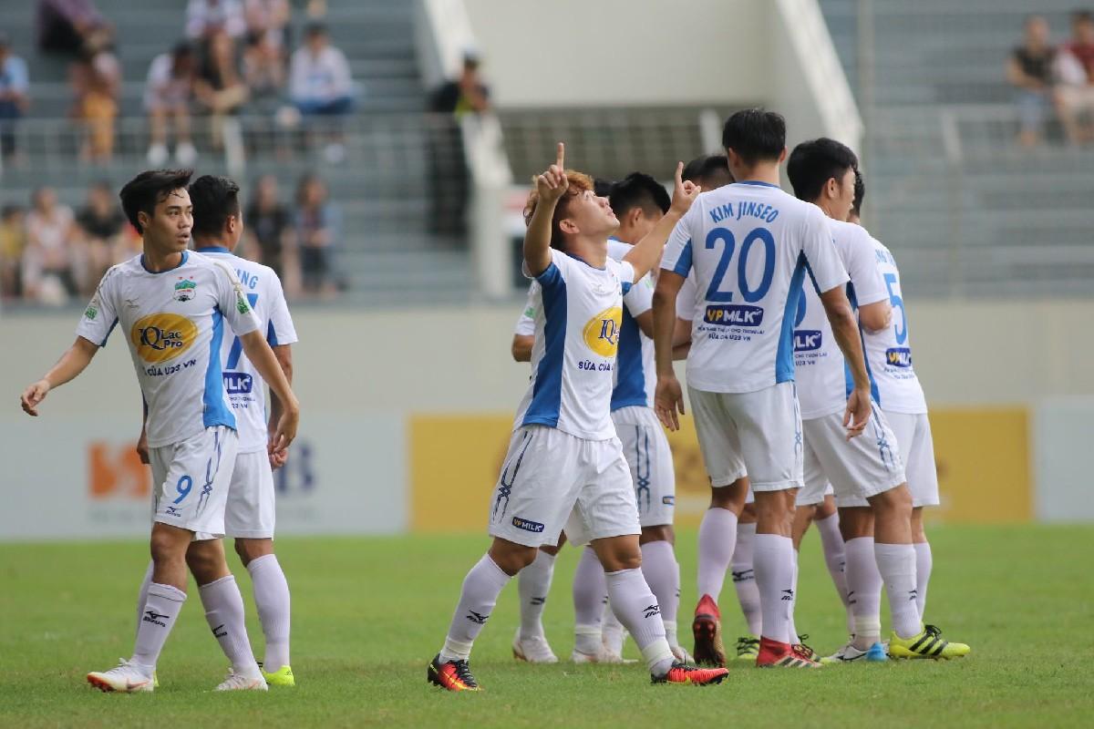 Top 5 pha lập công ấn tượng nhất vòng 14 V-League 2018