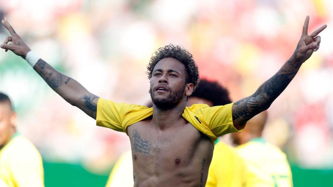 Neymar toả sáng rực rỡ trong chiến thắng Brazil 3-0 Áo