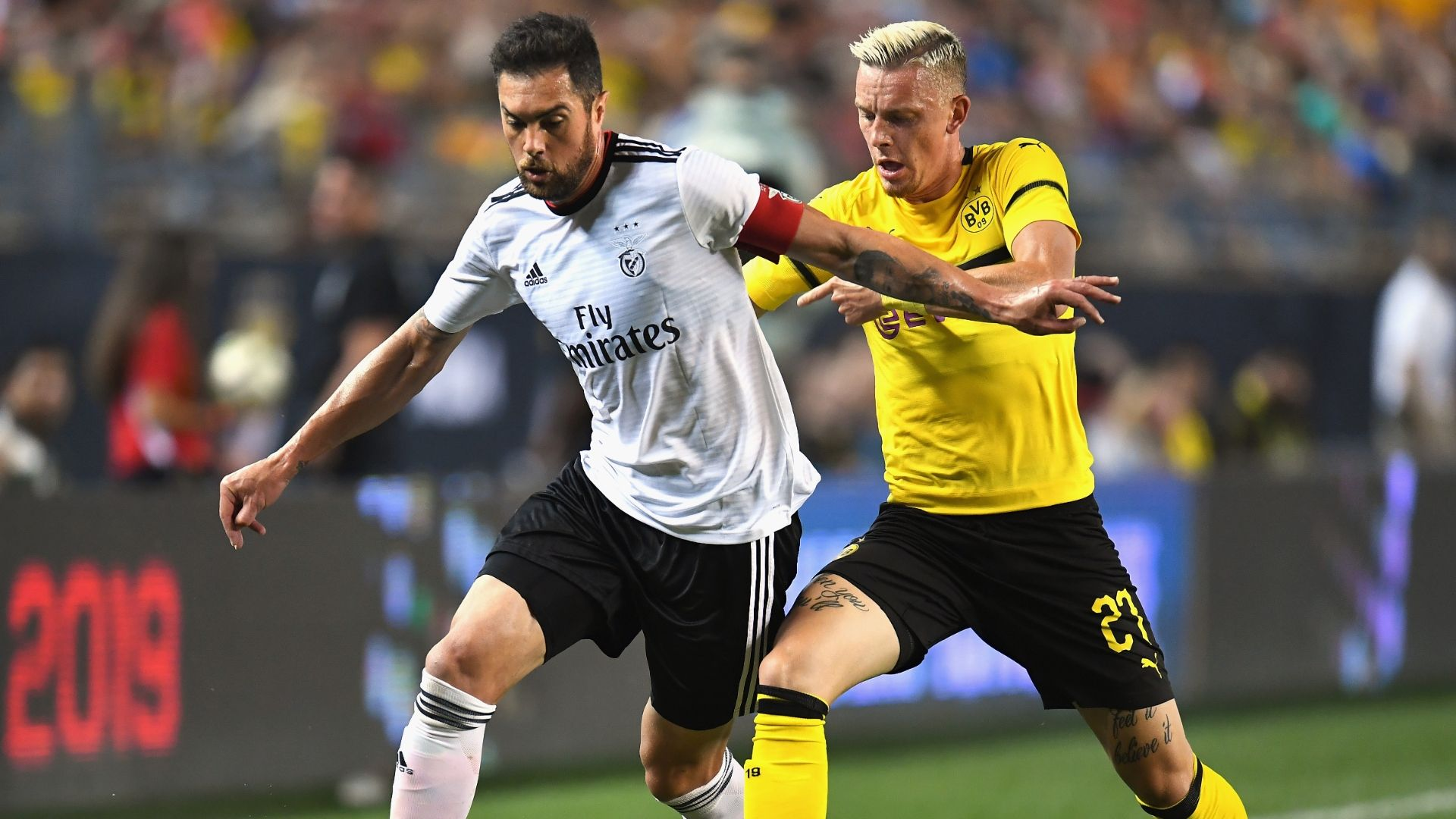 Dortmund 2-2 Benfica (Giao hữu CLB 2018)