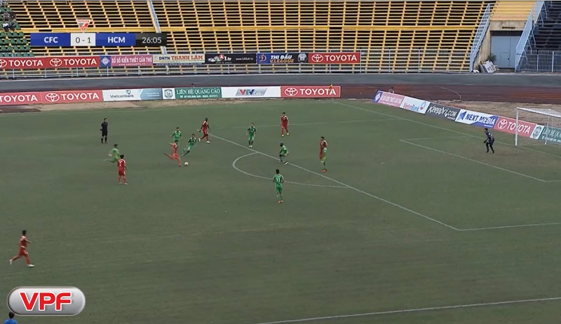 XSKT Cần Thơ 2-1 TP.Hồ Chí Minh (vòng 18 V-League 2017)
