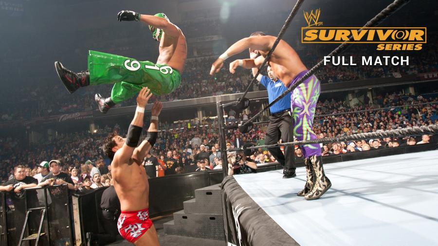 Survivor Series 2004: 4 đô vật hạng nặng đại chiến
