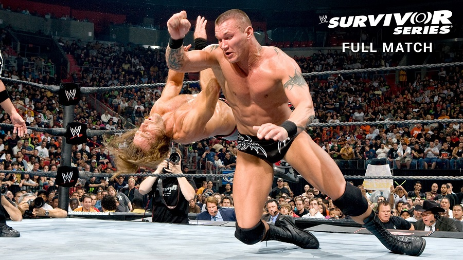 Survivor Series 2007: Shawn Michaels đối đầu Randy Orton