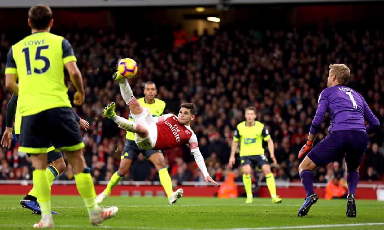 Arsenal 1-0 Huddersfield (vòng 16 Ngoại hạng Anh 2018/19)