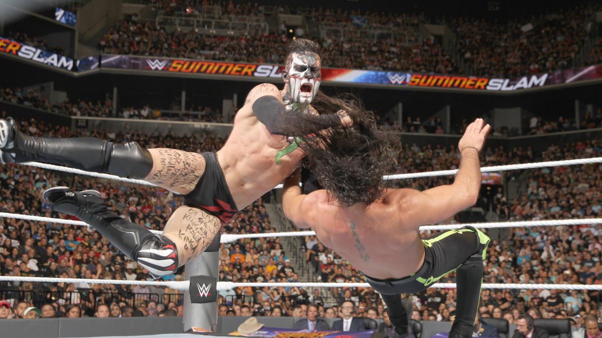 SummerSlam 2016: Finn Bálor quyết đấu Seth Rollins