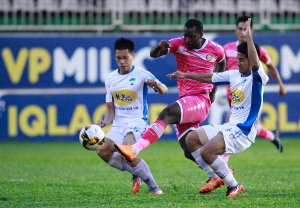 HAGL 3-2 Sài Gòn FC (vòng 15 V-League 2018)