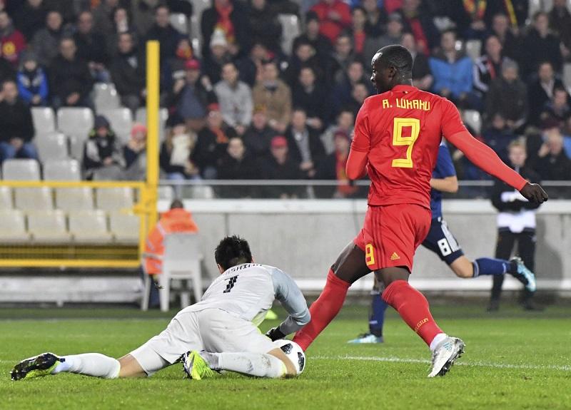 Bỉ 1-0 Nhật (Giao hữu Quốc tế 2017)