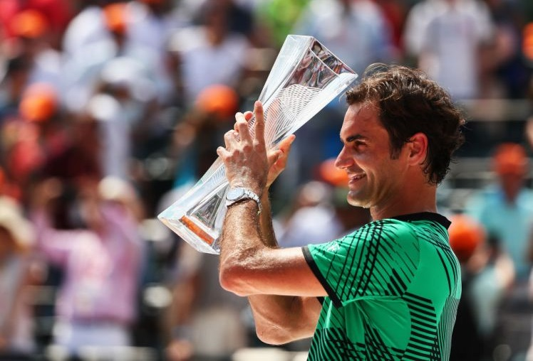 Những cú đánh ấn tượng của Federer trong trận Chung kết  Miami Open 2017