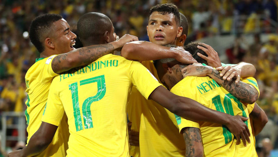 Mỹ 0-2 Brazil (Giao hữu Quốc tế 2018)