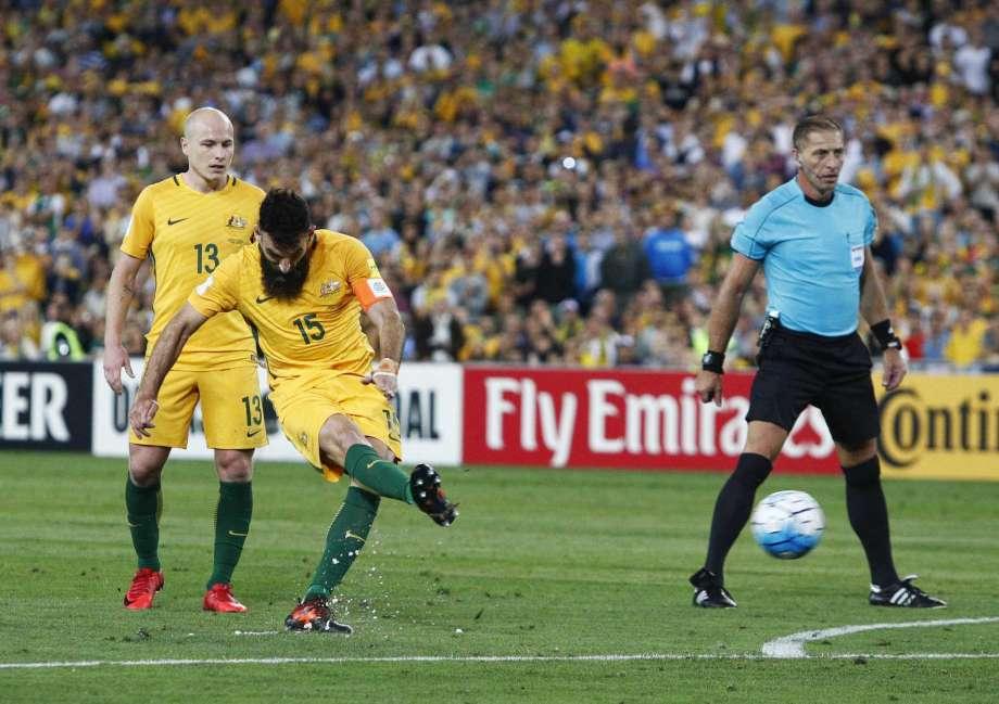 Australia 3-1 Honduras (play off World Cup 2018)