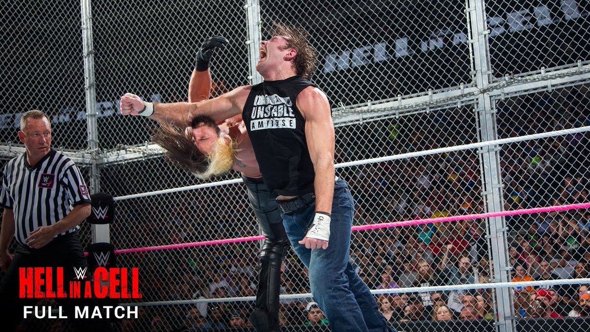Hell in a Cell 2014: Dean Ambrose quyết chiến Seth Rollins