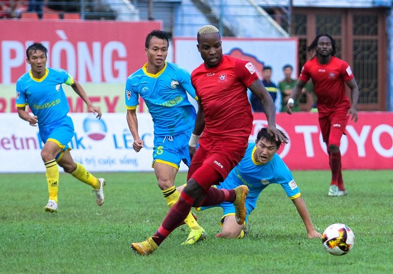 Hải Phòng 3-1 Sanna Khánh Hòa (vòng 18 V-League 2017)