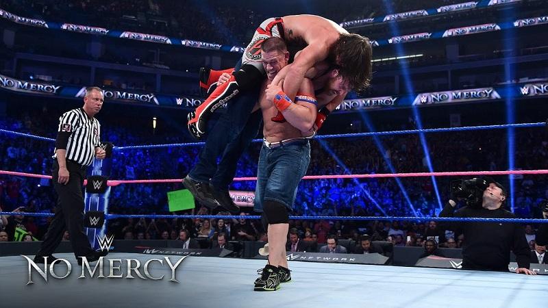 Đại chiến 3 siêu sao WWE tại No Mercy 2016