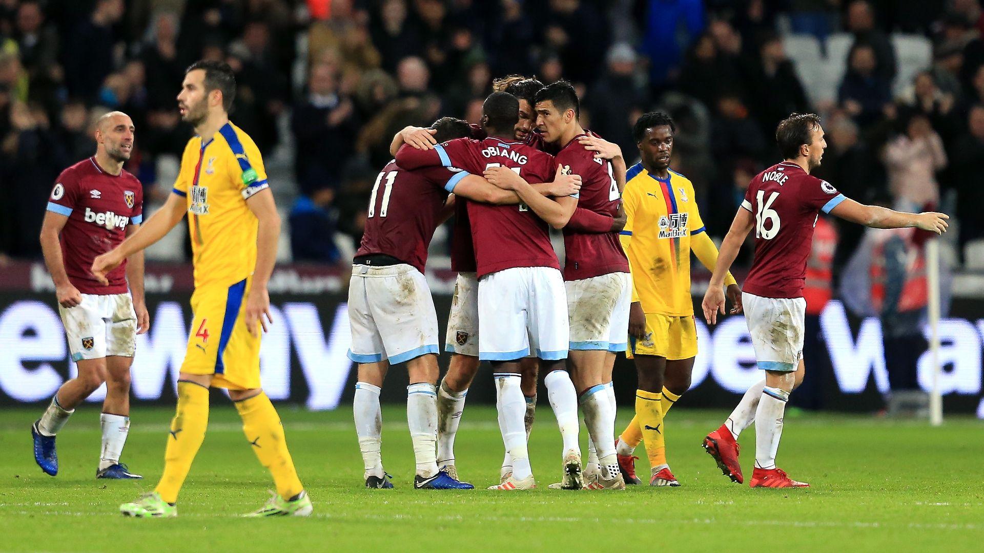 West Ham 3-2 Crystal Palace (vòng 16 Ngoại hạng Anh 2018/19)