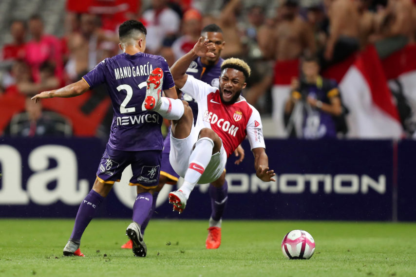 Toulouse 1 - 1 Monaco (vòng 5 Ligue 1 2018/19)