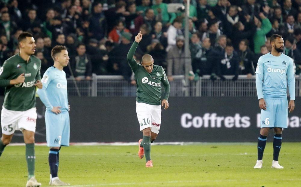 Saint Etienne 2-1 Marseille (Đá bù - vòng 20 Ligue 1 2018/19)
