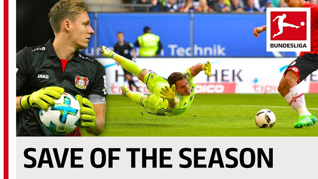 10 pha cản phá xuất sắc nhất Bundesliga 2017/18