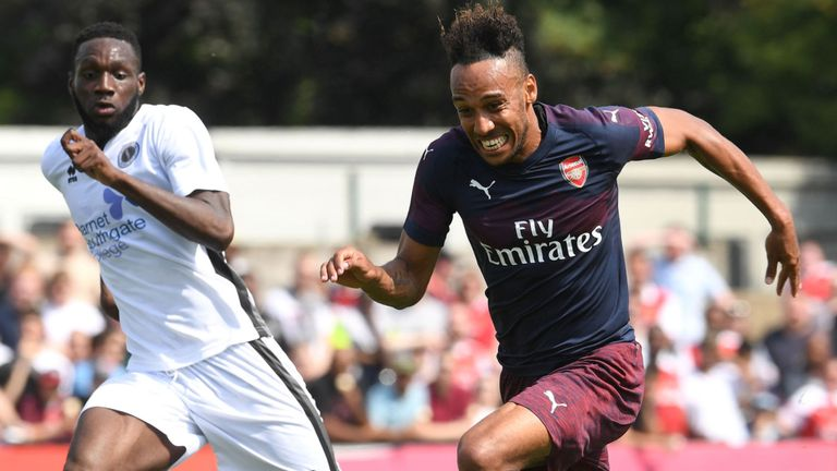 Borehan Wood 0-8 Arsenal (Giao hữu CLB 2018)
