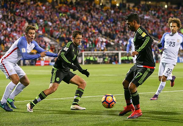 Mỹ 1-0 Mexico (Giao hữu Quốc tế 2018)